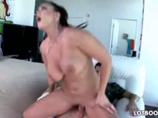 new brunette, most big boobs, see blowjob fresh