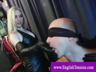 NT punishment and cocktease by prodommes