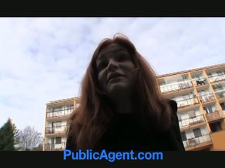 Søt redhead anals til penger!
