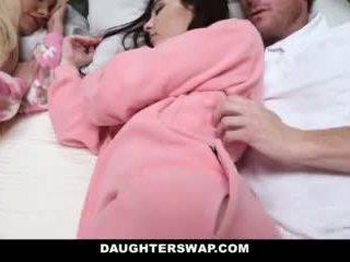 Daughterswap - Daughters Fucked During Slumberparty