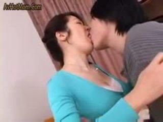 Karstās japānieši māte 49 līdz avhotmom