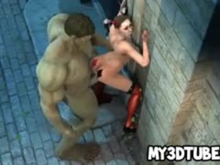 3D Harley Quinn Fucked By The Incredible HUnk