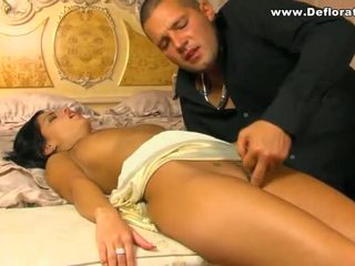 Virgin goddess shows slut