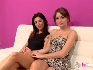brunetă, sex oral, sex în grup