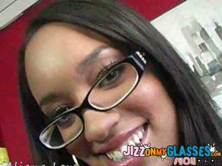 blowjobs, glasses, ebony