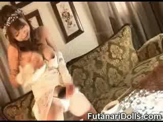 Futanari Bride Cumming!
