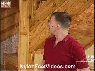 Clothilda ja peter jälk sukad jalad video