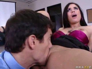 Masturbating during a sales meeting?