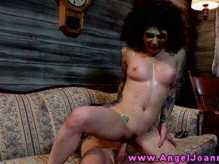 Alt goth zombie getting fucked doggystyle