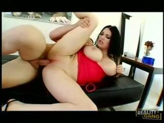 le plus chaud joufflu, grand gros seins frais