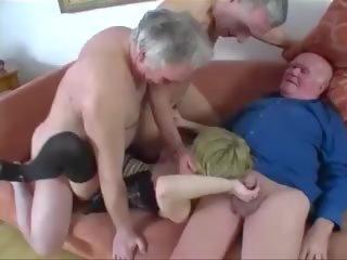 scheiß-, jung, gruppen-sex