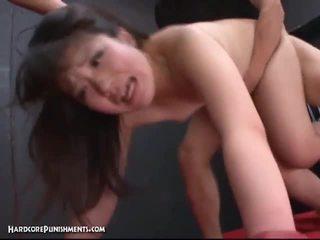 Japans babe getting extreem bondage seks.