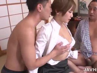 Ξυρισμένο ιαπωνικό μουνί pounded