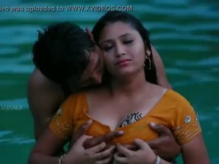 Hot mamatha roman with boy friend in nglangi pool-1