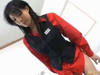Japanisch av modell asiatisch mieze