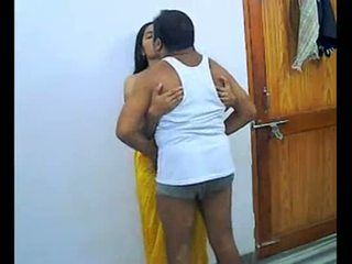 romantic, indian, married, enjoying, couple