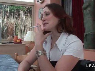Jolie rousse francaise se fait defoncer le petit cul avant un bon kasvohoito