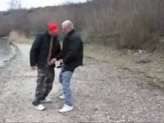 Quick fuck by the river