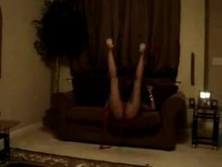 God dam черни stripper при вкъщи уау тя лошо видео