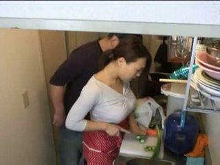 แม่บ้าน, ห้องครัว, xvideos