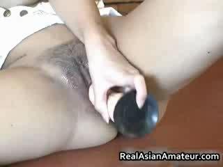 Slutty azijietiškas grabs jos karštas