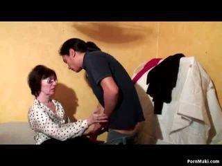 할머니 항문의 삼인조, 무료 성숙한 포르노를 비디오 51