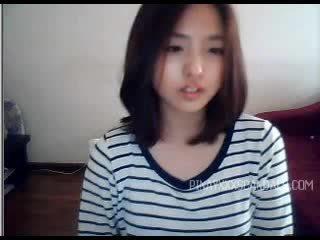 Graziosa giovanissima asiatico webcam