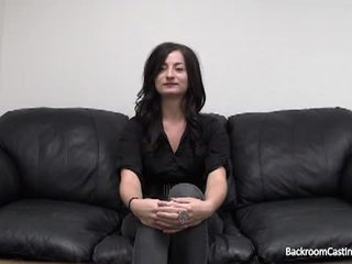 check brunette scene, fun reality movie, real shaved pussy