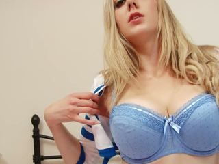 tits, blondes, বিগ boobs