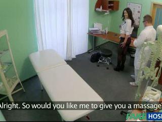 Fake ārsts banged viņa pacients reāls labs