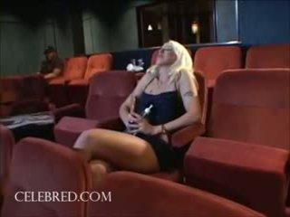 Fiona cheek wild interraciaal in flick theatre