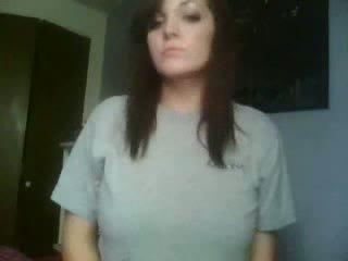 mignon, voir webcam, frais fille