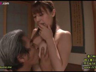 brunetka, seks oralny, japoński