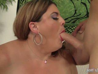Fat BBW Erin Green Riding a Stiff Cock, Porn 9d