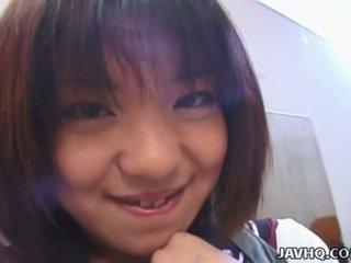 Rino sayaka poesje stimulation en heet tiener neuken!