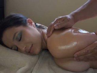 Aziatisch massages blank meisje