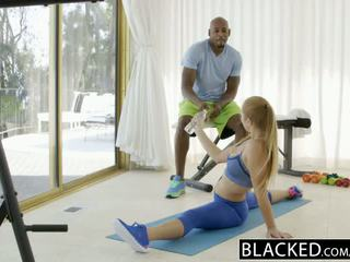 Blacked first interrasial for fit babeh layna landry