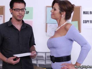 hardcore sex, izdrāzt seksīgu slampa, office sex