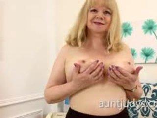 big boobs, solo, masturbācija