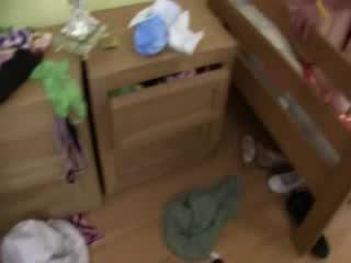 Drie babe meisjes erotiek met inbreker
