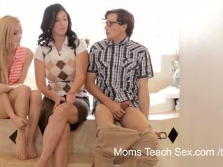 Mamans enseigner sexe