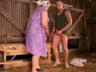 脂肪 豐滿的 奶奶 性交
