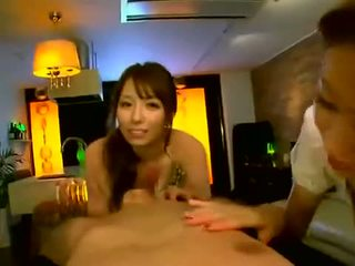 Japanese rich girls playing with their sexual slave