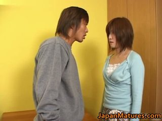 Kaori nanba ιαπωνικό ώριμος/η μωρό gets