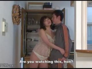 Cornuto giapponese moglie sharing