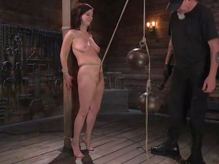 Pain Slut Cherry Torn Submits to Corporal Punishment and