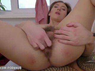 brunette, masturbate, teasing