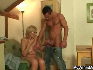 Explicit Loving Mother In Law Acquires His Tackle