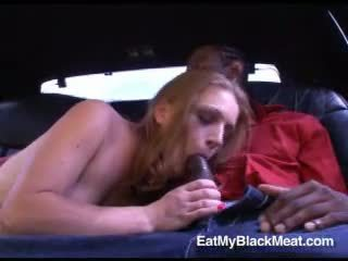 Lewd szmata courtney brooks sucks od a duży darksome kutas rod