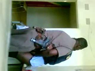 afrikai, egyenruha, cop